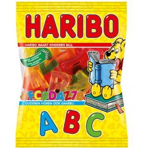 Letters Abc 20 x 200g Haribo