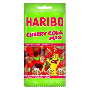 Cherry-Cola Mix Flowpack 8 x 100g Haribo