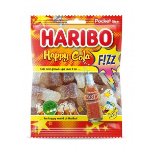 Happy Cola Fizz (Zure Cola) 28 x 70g Haribo