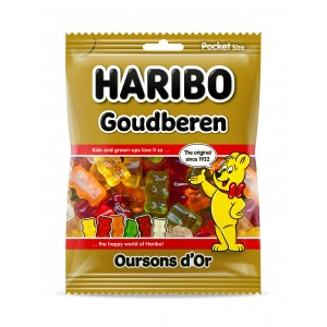 Oursons d'Or 28 x 75g Haribo