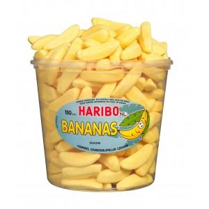 Bananas 150 pcs Tubo (1,05kg) Haribo