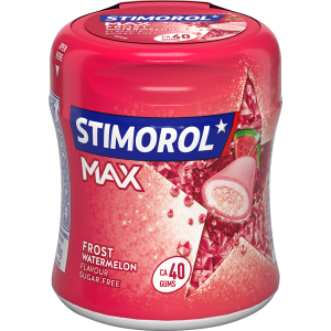 Bottle Max Watermelon 6 x 80g Stimorol