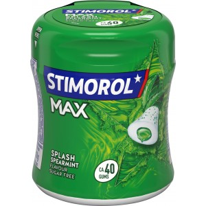 Bottle Max Spearmint 6 x 88g Stimorol