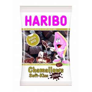 Soft-Kiss Extra Chocolade 12 x 175g Haribo