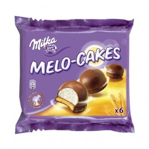 Melo Cakes 6 Pack 12 x 100g Milka