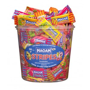 Stripes 150 pcs Tubo (1,05kg) Maoam