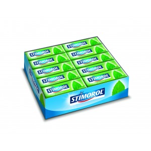 Foil Spearmint 30 x 14g Stimorol