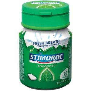 Bottle Spearmint 6 x 50,7g Stimorol
