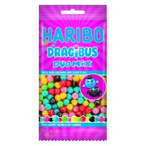 Dragibus Duo Mix Flowpack 8 x 130g Haribo Veggie