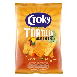 Tortilla Nacho Cheese 20 x 40g Croky