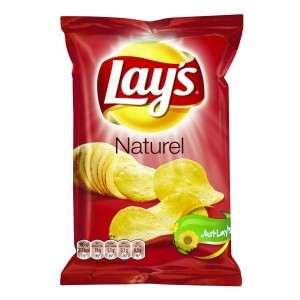 Lays Chips Naturel (Zout) 12 x 120g