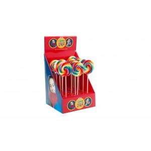 Lolly Spiraal Regenboog 30 x 45g