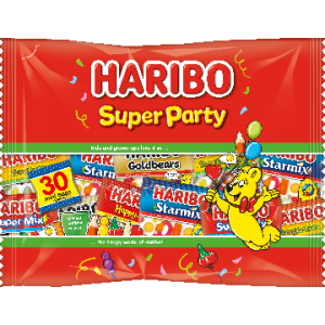 Super Party 12 x 480g (+-30 Mini Sachets) Haribo
