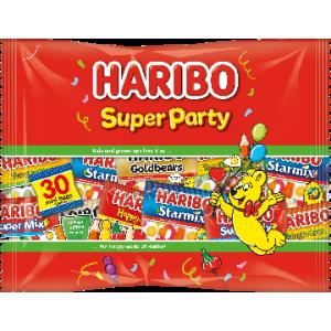 Super Party 12 x 480g (+-30 Mini Zakjes) Haribo