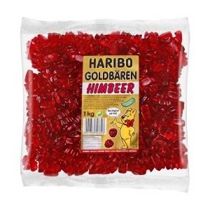 Goldbären Rood Framboos 1kg Haribo