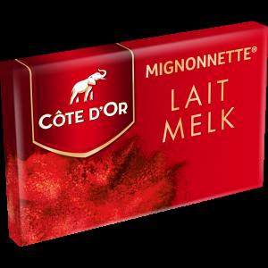 Mignonettes Melk 120 st. (1,2kg) Côte d'Or