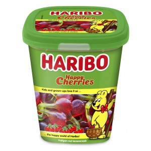 Candy Cups Happy Cherries (Kersen) 12 x 190g Haribo
