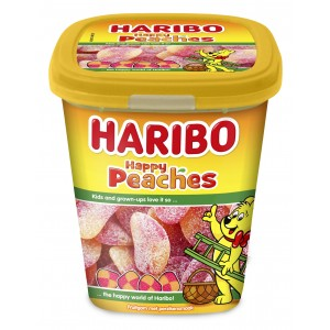 Candy Cups Happy Peaches (Perziken) 12 x 190g Haribo