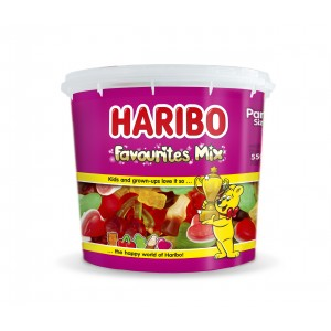 Mini Tubo Favourites Mix 550g Haribo