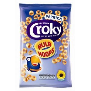 Hula Hoops Paprika 24 x 75g Croky