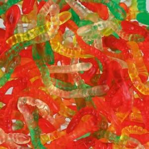 Gloeiwormen 3 x 1kg Haribo