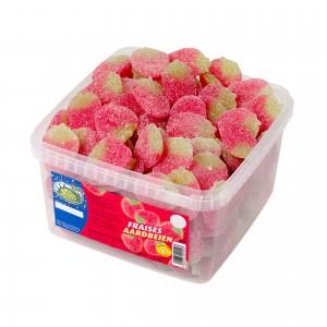 Aardbeien 150 st. Lutti 1,50 kg
