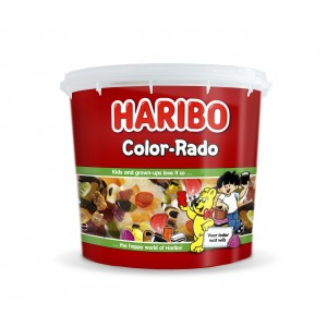 Mini Tubo Color-rado 650g Haribo