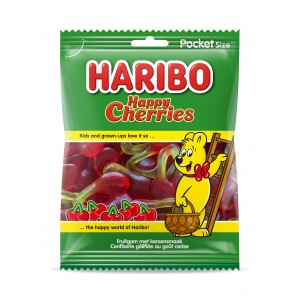 Happy Cherries (Cerises) 28 x 75g Haribo
