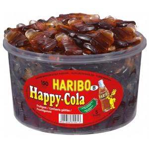 Happy Cola Groot 150 st. Tubo (1,2kg) Haribo
